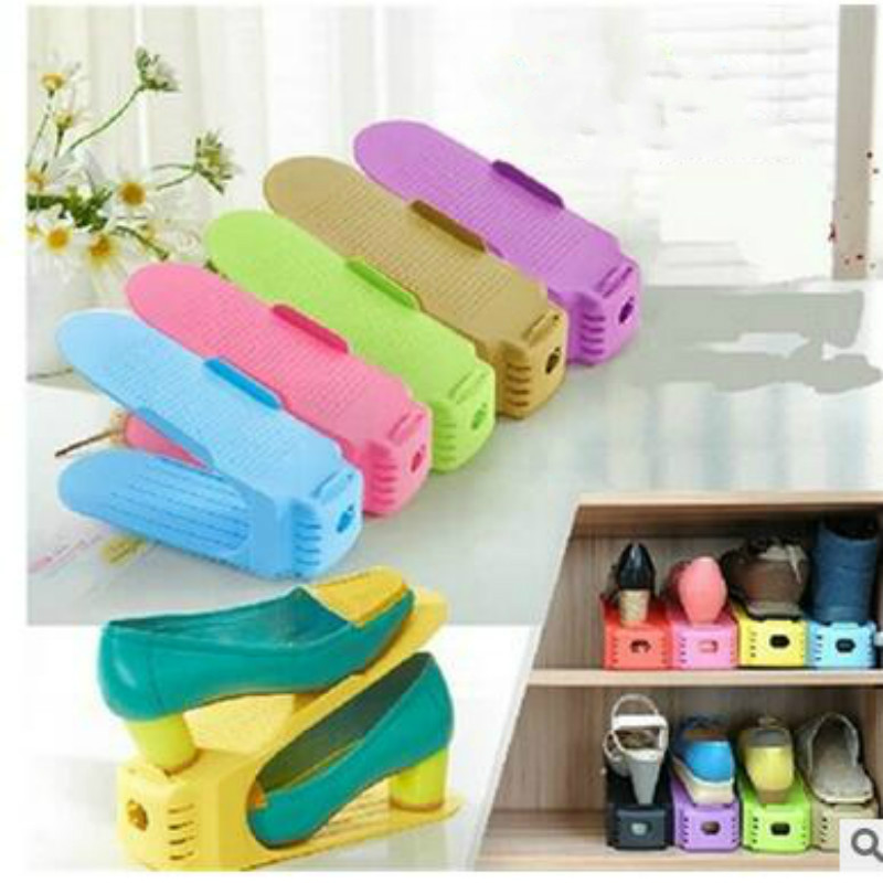 Aliexpress.com : Buy 10pc/1set Colors Shoe Racks Modern Double Cleaning Storage  Shoes Rack Living Room Convenient Shoebox Shoes Organizer Stand Shelf From  ... Part 66