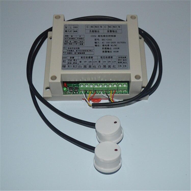 Capteur de niveau de liquide sans contact contrôleur de niveau d'eau à Induction monté sur l'extérieur interrupteur de niveau de liquide interrupteur de niveau d'eau