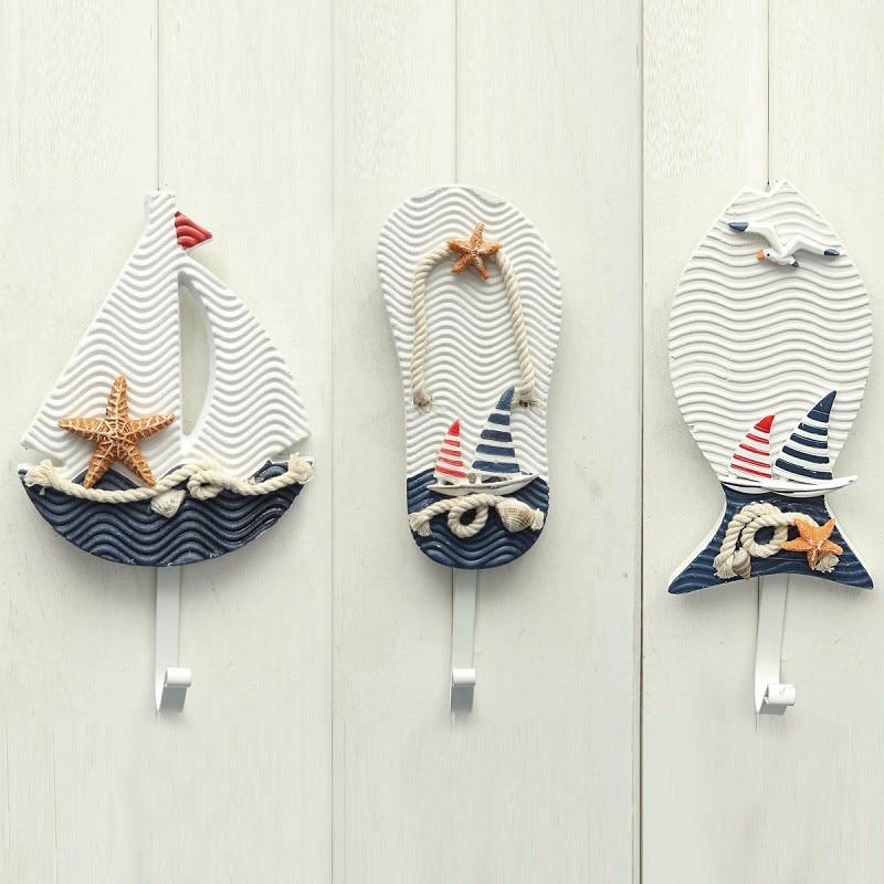 Nautical Wall Hooks Decorative
