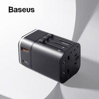 Baseus 18 Вт путешествия Европейская USB зарядка поддержка быстрой зарядки 3,0 Для samsung телефон зарядное устройство PD 3,0 зарядное устройство для ...