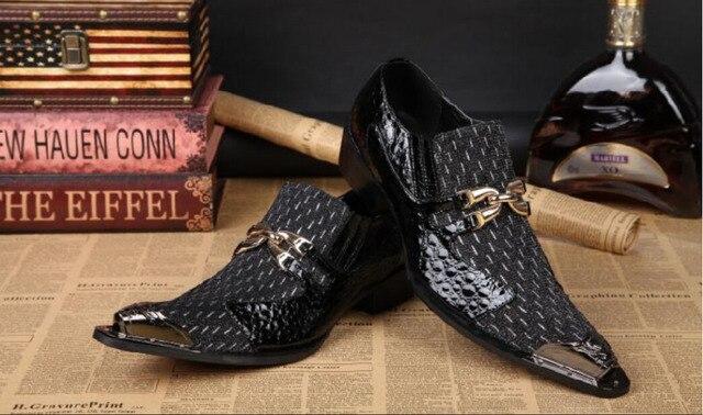 Calidad Mezcló Decoración Hombres Medalla Alta Color Visten Zapatos 8dxwq5B