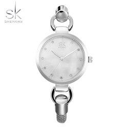 Shengke female quartz watches women hollow bracelet clock ladies luxury dress wrist watch sk new girls.jpg 250x250