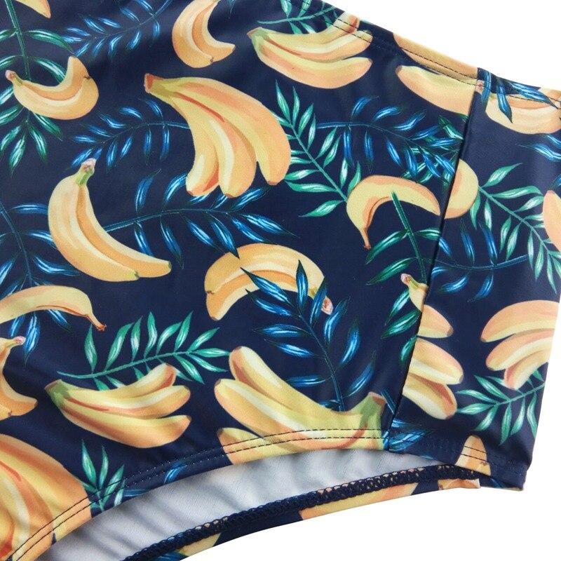2018 Bikini жиынтығы Vintage жоғары белдеуі - Спорттық киім мен керек-жарақтар - фото 4