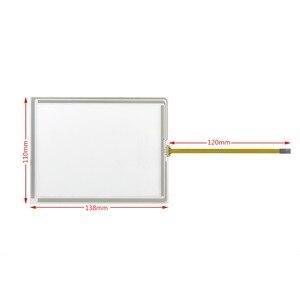 Новый 5,7-дюймовый сенсорный экран стеклянная панель Замена для TP177A TP177B TP177 микро K-TP178 микро 138*109 мм