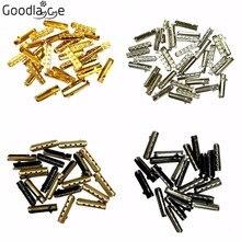 52 PCS Set Metal Aglets DIY Shoelaces Repair Replacement  Shoe Lace Tips Head New