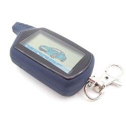 Горячая Распродажа A61/B6 диалоговое окно автомобиля пульт дистанционного управления для starline A61/B6 диалог с ЖК-дисплеем пульт двухполосная Ав...