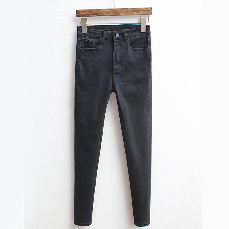Slanke jeans voor vrouwen Skinny hoge taille jeans Vrouw blauwe denim - Dameskleding - Foto 5