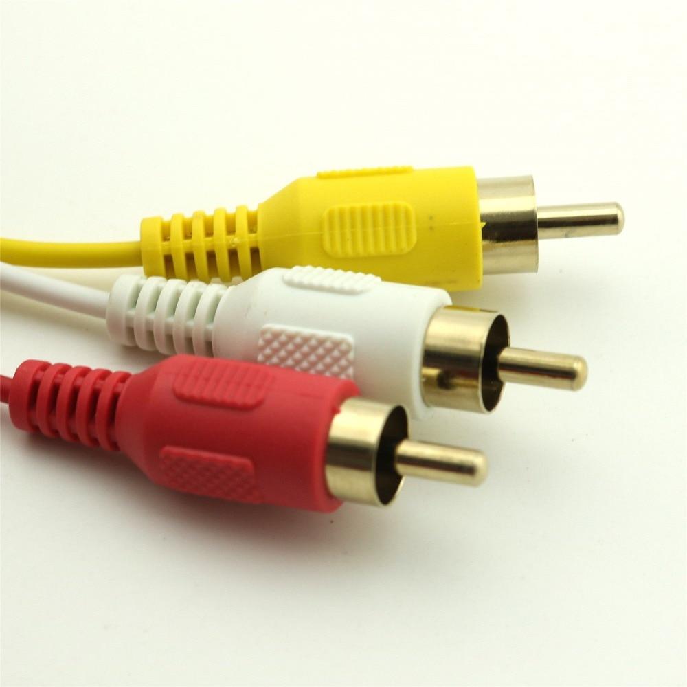 1 stücke 5FT HDMI Stecker auf 3x RCA AV Audio Video Adapter Kabel ...