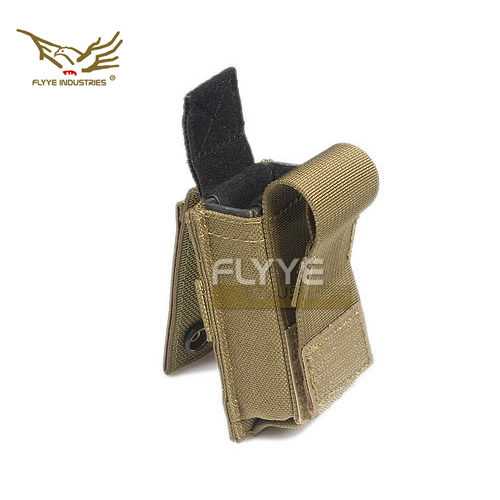 FLYYE FY-PH-P007 Single Joint Magazine 9MM Pistol With Liner Bag Outdoor Tactical Vest Attached Pliers Protective Sleeve