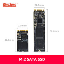 Kapasitas Tinggi M.2 SSD KingSpec M2 2242 2280 SATA SSD NGFF 512 GB 1TB Disk Internal HDD N300 Disco duro SSD untuk Laptop Desktop PC(China)