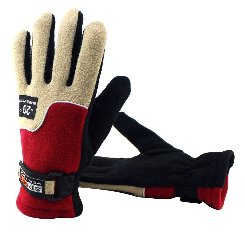 Female Anti-Slip Bike Cycling Riding Gloves Women Warm Skiing Motorcycle Motorbike Full Finger Bicycle Gloves