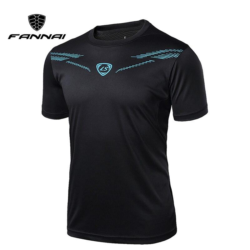 FANNAI t shirt hommes Sport de Course Chemises Tops T-shirts Hommes T-shirt Mode À Manches Courtes Gym Fitness workout Sport Designer