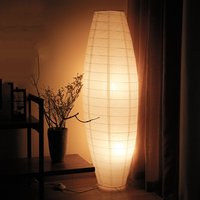 Nordic Floor Lamp Living Room Bedroom Bedside Study European Standing Lamp Table Lamp Simple Modern Creative Paper Lamp