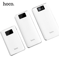 HOCO B23B 20000mah Power Bank LCD Display Quick Charge Triple USB Portable Charger External Battery For