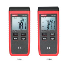 UNI-T UT320D Mini Contact Thermometer Dual-channel K/J Thermocouple Temp Meter UT320A