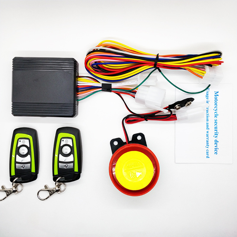 Motorcycle Alarm Theft Protection Control Motorcycle Security System Bike Moto Scooter Remote Start Motor Alarm System Kawasaki