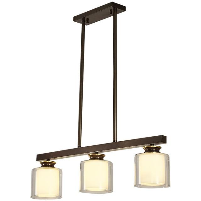 LED Modern Ceiling Lights Fixtures for Living Room Bedroom E27 Glass ...