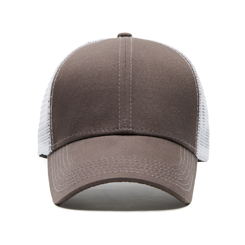 baseball-cap-mesh-hat-brown-front