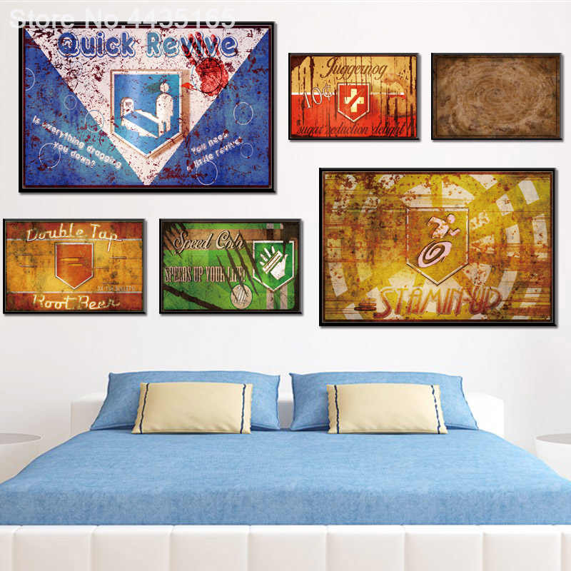 Call Duty Black Ops Zombies Hot Game Series Poster Wall Art Picture Canvas Painting Living Room Decoration Posters and Prints