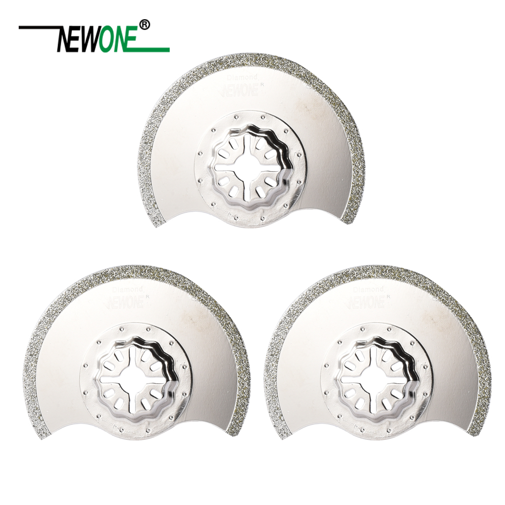 NEWONE Starlock  Diamond Coated Segmented 88 Saw Blades fit Power Oscillating Tools for Cutting Wood Plastic and moreNEWONE Starlock  Diamond Coated Segmented 88 Saw Blades fit Power Oscillating Tools for Cutting Wood Plastic and more