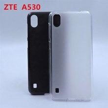 Роскошный мягкий силиконовый чехол для телефона zte Blade A530, задняя крышка для zte Blade A606, чехол, задняя крышка, чехол для zte A 530 A606