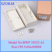 4 pcs lot 199 5x84x60mm box enclosure abs case electronics enclosure electronics projects boxes instrument case