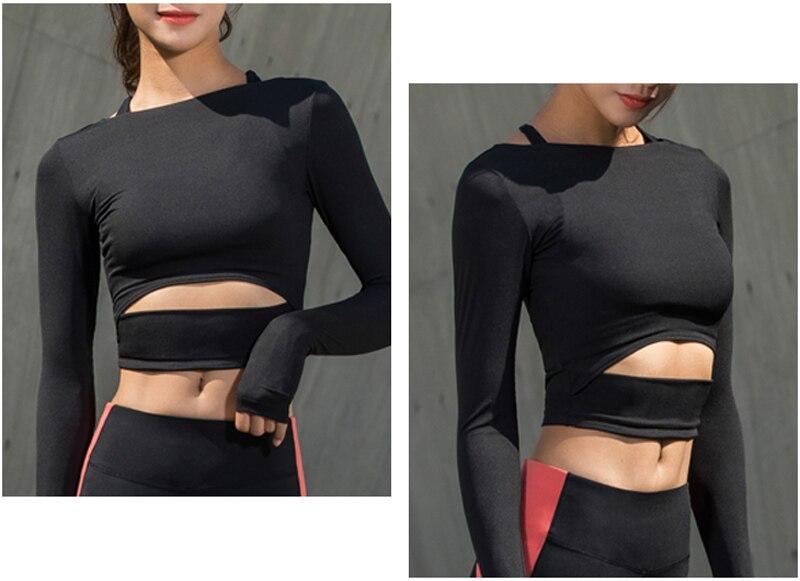 women yoga shirts tops (1)