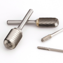 Grinding-Head Milling-Cutter Rotary-File Carbide Tungsten Woodworking Steel Single-Slot