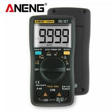 ANENG Digital Multimeter AN8009 LCD Display 9999 Counts AC/DC Tester Black