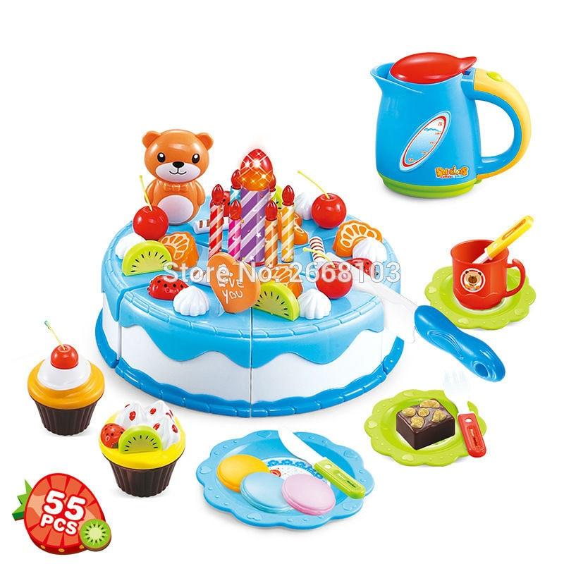 Cake Toy 55PCS / Set Fruit Girl Балалар үйі - Ойындар мен басқатырғыштар - фото 4