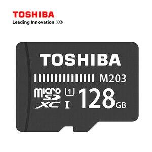 TOSHIBA флэш-карта MicroMemory 100 МБ/с./с, карта Micro SD, карта памяти, для телефона, 128 ГБ, 64 ГБ, SDXC, 32 ГБ, 16 ГБ, SDHC, U1, класс 10, Full HD, TF-карта