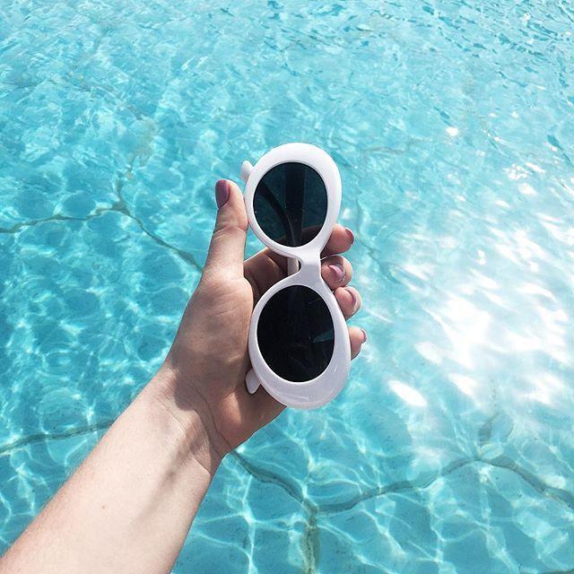 2018 New UV400 Vintage Unisex  Fashion Oval Cheap Kurt Cobain Sunglasses for Men and Women Designer Sun Glasses