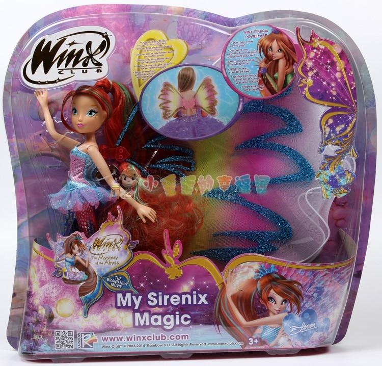 Believix Fairy&Lovix Fairy Winx Club Doll rainbow colorful girl Action Figures Fairy Bloom Dolls with Classic Toys For Girl ты модный дизайнер winx fairy counture