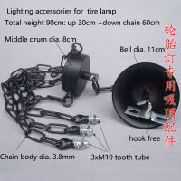 1 pcs Pendant lamp ceiling plate candle chandelier chain bell bearing fittings DIY lighting accessories for tire lamp
