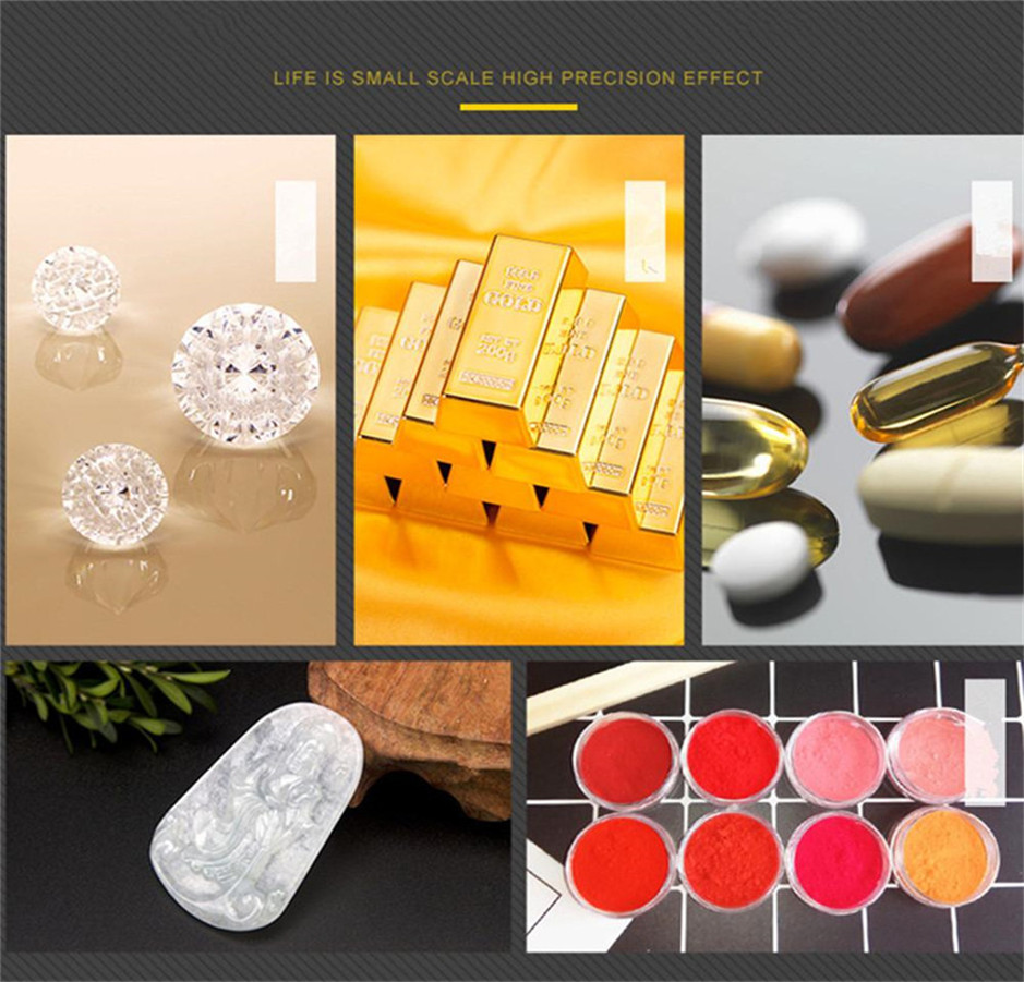 50g/0.001g LCD numérique bijoux balances poids de laboratoire haute précision échelle usage médical Portable Mini Balance électronique - 4