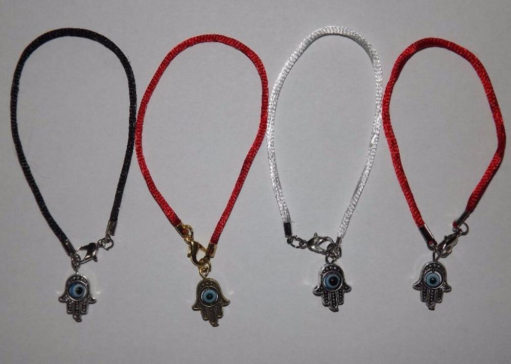 Mixte Vintage Or Argent Démon Oeil Kabbale Main de Fatima Charmes Chaîne  Bracelet Bracelet Cheville Femmes Bijoux Accessoires W230 fe0aa2accc64