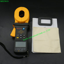 Big discount MASTECH MS2301S digital Clamp Meter Earth Ground Resistance Tester Meter/Resistance Detector/Megger/Meg Ohm Meter 0.001ohm
