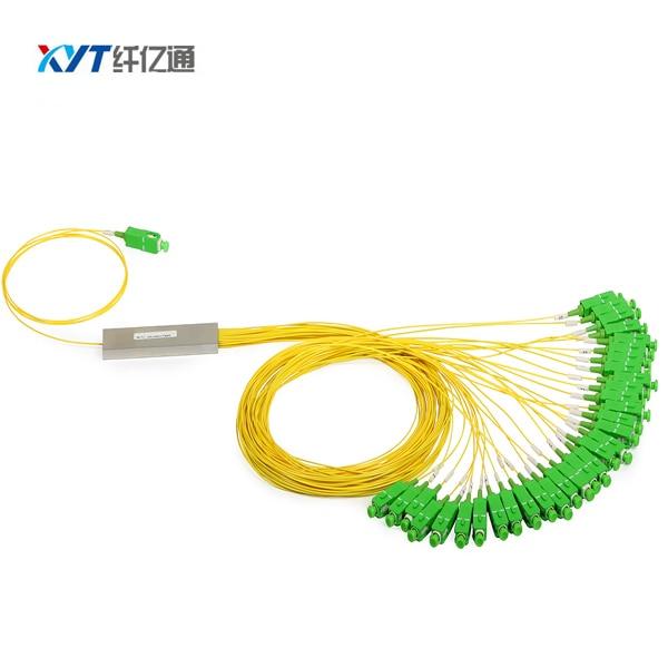 Мини PLC оптичен сплитер 1x32 стоманена - Комуникационно оборудване - Снимка 2