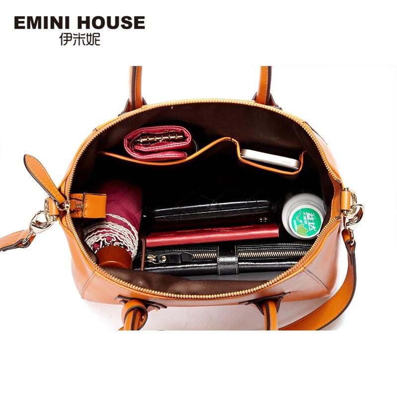 EMINI HOUSE Tote τσάντα Split δέρμα τσάντες - Τσάντες - Φωτογραφία 4