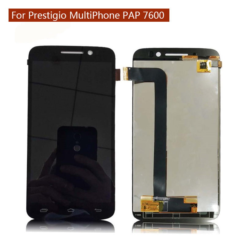 For Prestigio MultiPhone PAP 7600 DUO Pap7600 pap7600duo LCD Display Screen With Touch Screen Digitizer Assembly with tools
