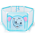 Kids Child Safety Game Fence Portable Plastic Baby Activity Playpen Cartoon Baby Play Yard Indoor Baby Safety Playard Game Fence