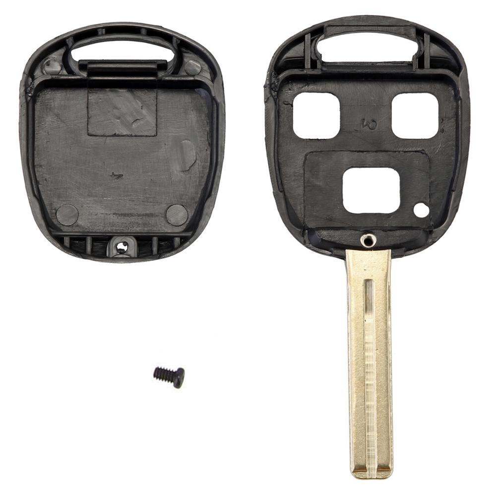 3 Buttons 42mm Remote Key Case Shell Fob For Lexus ES330 RX330 GX470 LX47 D05