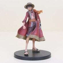 Figurine d'une pièce Anime 15th édition mille bateau Pirate ensoleillé DXF Grandline Sabo Nami Sanji Zoro Luffy figurine modèle jouets
