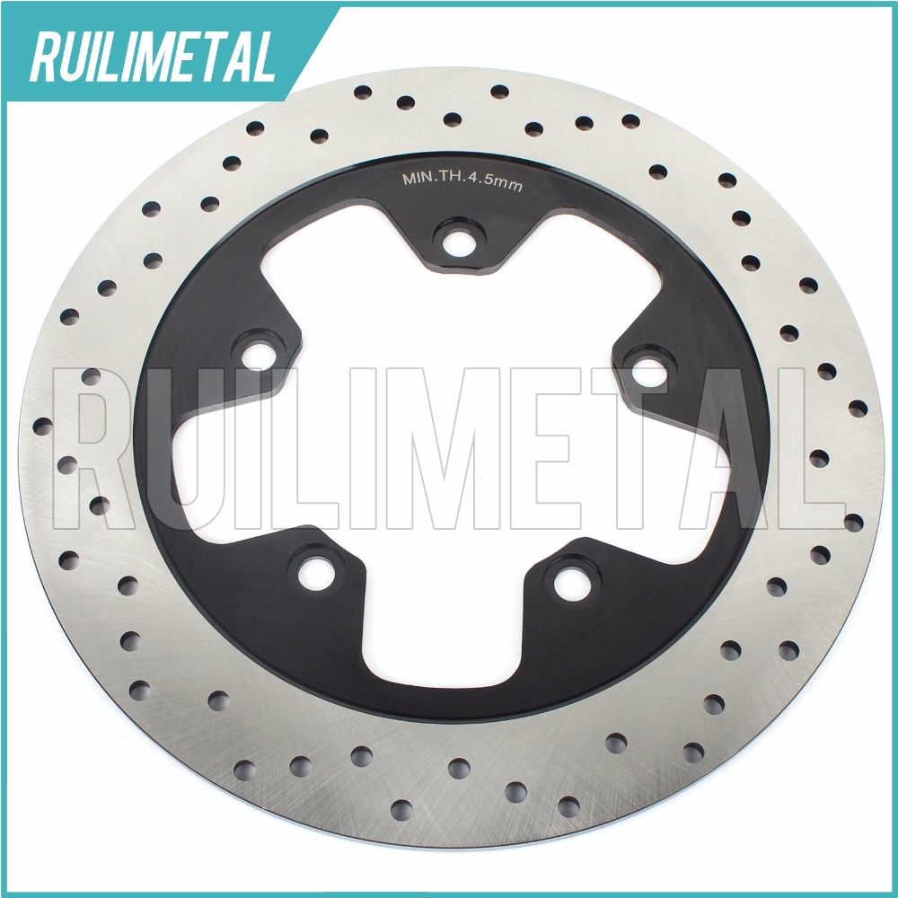 Rear Brake Disc Rotor for GSX1400 2001 2002 2003 2004 2005 2006 2007 2008 01 02 03 04 05 06 07 08 GSX 1400 Z 2005 05 mfs motor motorcycle part front rear brake discs rotor for yamaha yzf r6 2003 2004 2005 yzfr6 03 04 05 gold
