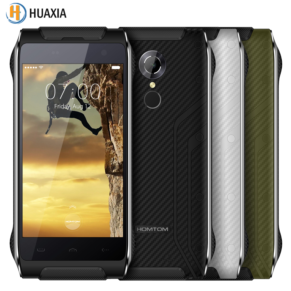 Original HOMTOM HT20 Waterproof 4 7 Android 6 0 Quad Core 2GB RAM 16GB ROM Shockproof