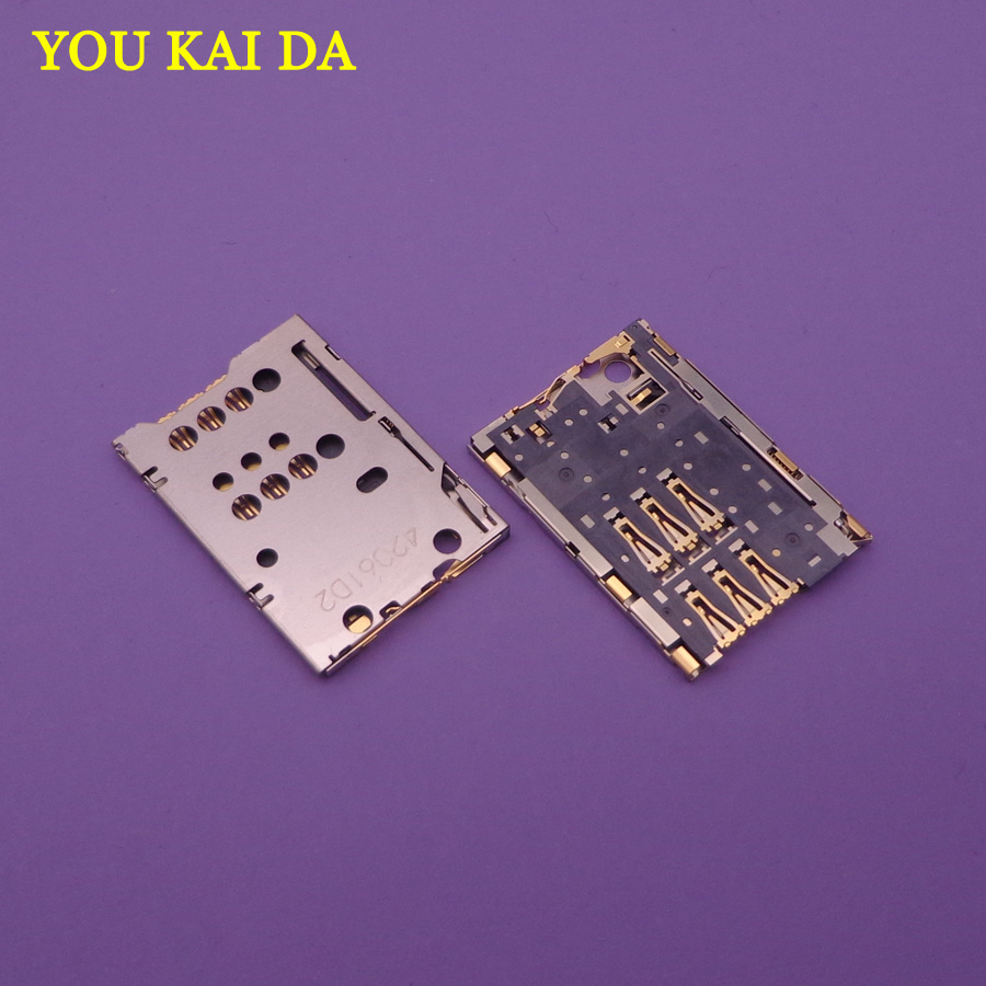 1pcs/lot Sim Reader For <font><b>Nokia</b></font> <font><b>N8</b></font> C7 C7-<font><b>00</b></font> Sim Card Reader Holder Tray Slot Socket Connector Replacement repair parts image