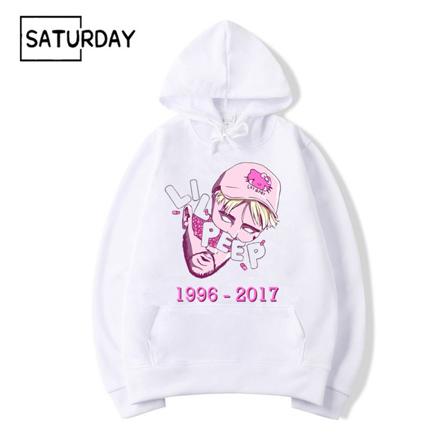 Для мужчин хип хоп рапер Lil peep RIP дизайн принт флисовые толстовки кофты зима унисекс Harajuku уличная женщин Свэг худи
