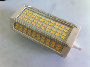 Image 5 - Yüksek güç 35w LED R7S ışık 135mm kısılabilir R7S lamba soğutma fanı J135 R7s ampul yerine 350w halojen lamba AC85 265V