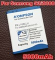 5000mah EB-L1G6LLU For Samsung Galaxy S3 Battery,i9300i i9301 i747 L710 I9308 i879 T999 I9305 M440S I9128 S III i9300 battery