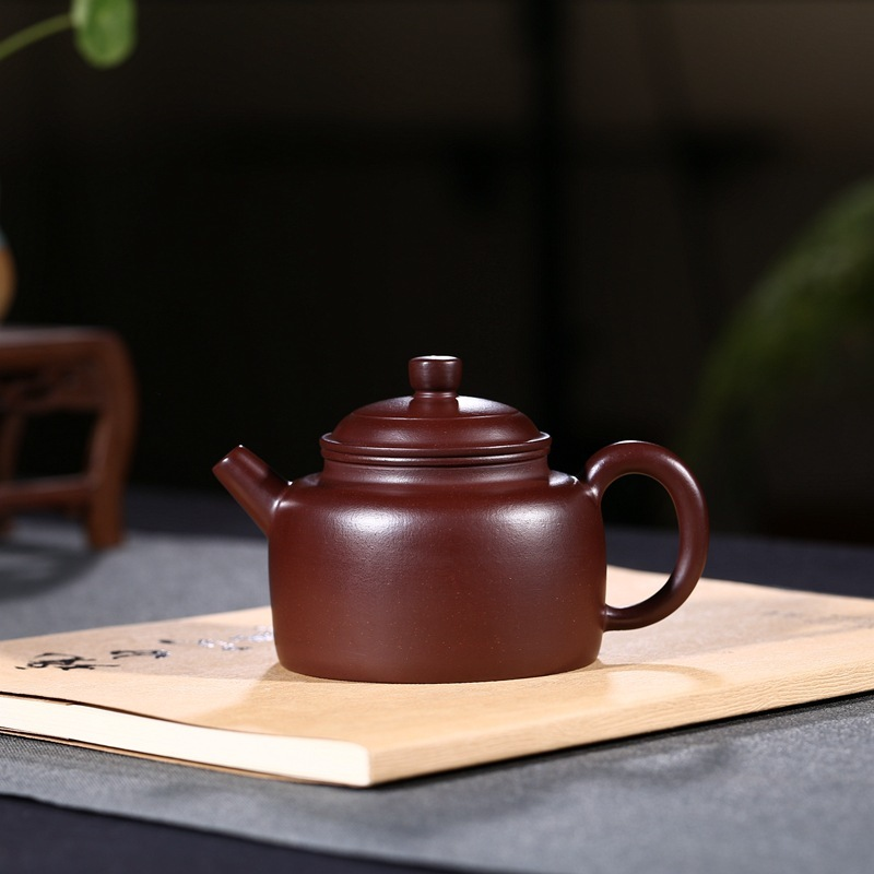 undressed ore purple clay are recommended, zhu clock pot famous all hand wholesale tea set gift custom manufacturerundressed ore purple clay are recommended, zhu clock pot famous all hand wholesale tea set gift custom manufacturer